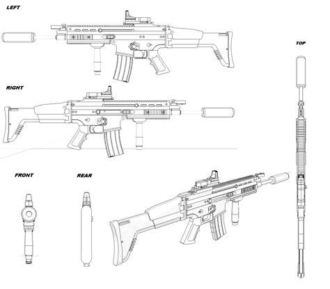 M2 Browning Ma Deuce Blueprint Download Free Blueprint For House Blueprints For 3d Modeling