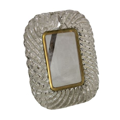 cornice in vetro cornice in vetro torchon oggettistica modernariato