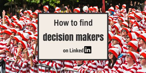 Find On Linkedin How To Find Decision Makers On Linkedin Artesian Solutions