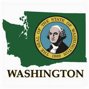washington state colors quot washington state flag quot stickers by peteroxcliffe redbubble