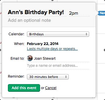 Add Calendar Event Add And Edit Events Basec 2 Help