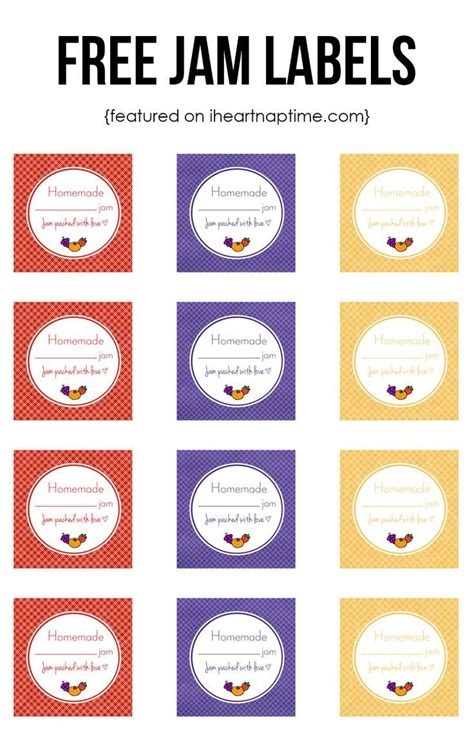 printable recipe labels 17 best images about free printables labels on pinterest