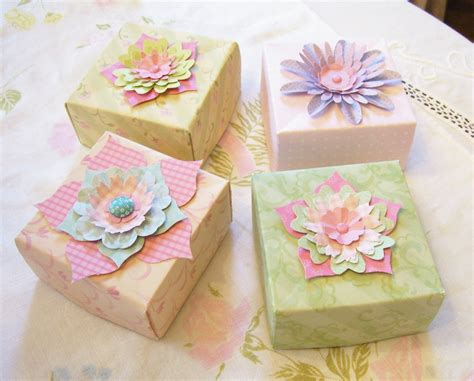 How To Make Origami Gifts - paper folding crafts box
