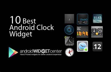 top android widgets 10 best android clock widgets april 2013 androidwidgetcenter