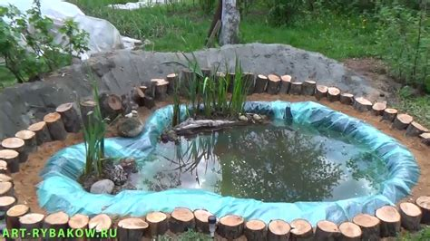 how to create a backyard pond how to build a garden pond diy project full video youtube