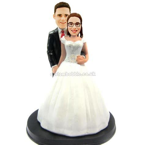 bobblehead cake topper wedding cake topper bobbleheads