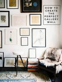 Home Artwork Decor How To Create The Perfect Gallery Wall The Interior