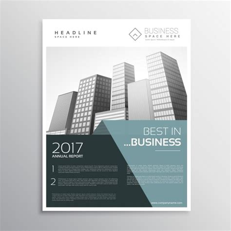 template brochure elegant elegant business brochure template vector free download