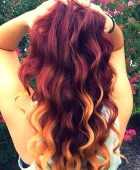 red hair with blonde ombre bob haircut 2014 hair trend red ombre hairstyles