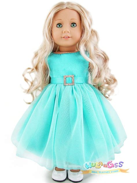 American Doll Handmade Clothes - doll clothes fits 18 quot american handmade mint green