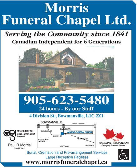 ads morris funeral chapel ltd