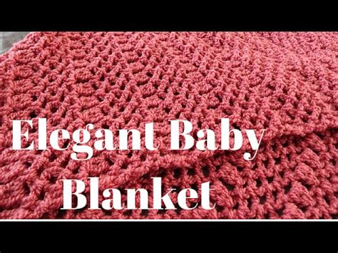 youtube tutorial crochet baby blanket elegant baby blanket crochet tutorial youtube