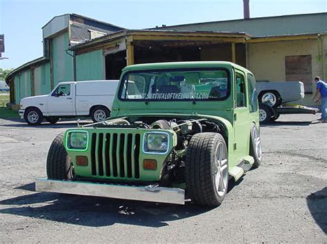 jeep wrangler lowered lowrider jeeps