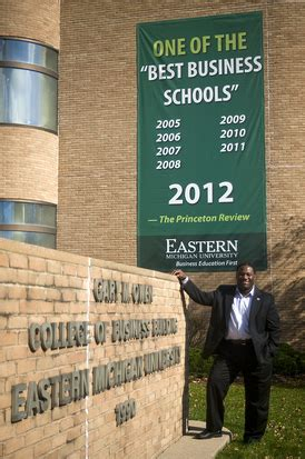 Eastern Michigan Mba Ranking by Emu S New College Of Business Dean Focusing On Fundraising