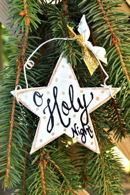 christmas tree decorated whith words best 25 wooden ornaments ideas on wooden ornaments rustic