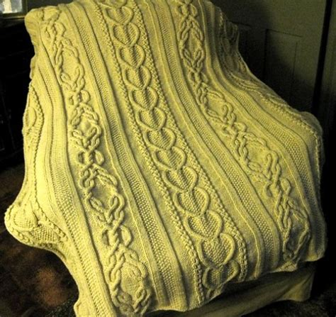knitted afghan patterns a knitting blog we like knitting gift of love cable afghan free pattern
