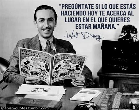 Walt Disney Biography In Spanish | spanish quotes meaning of life and walt disney on pinterest