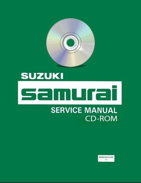 car repair manuals online pdf 1992 suzuki samurai user handbook 1990 1994 suzuki samurai service manual parts cd workshop repair 1991 1992 93