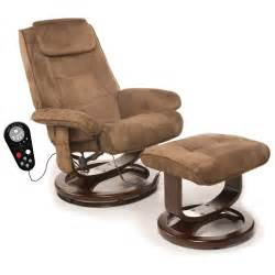 Recliner Chairs With Ottoman Heated Leisure Recliner Chair Ottoman Ergonomic Swivel Sofa Vibration Ebay