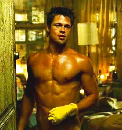 Brad Get Their St On In Oz by Brad Pitt Fight Club How To Get It Pop Workouts