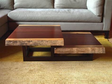 two tier coffee table crafted two tier coffee table by cwik studio