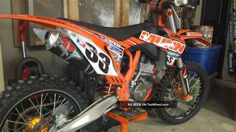 Munns Ktm 2012 Munn Racing Ktm Sx F250