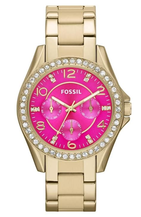 Fossil Pink fossil pink and fossil watches on