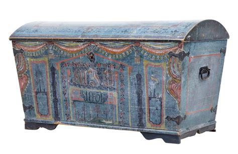 19 best images about antique furniture i want on pinterest 19th century swedish painted dome top trunk chest