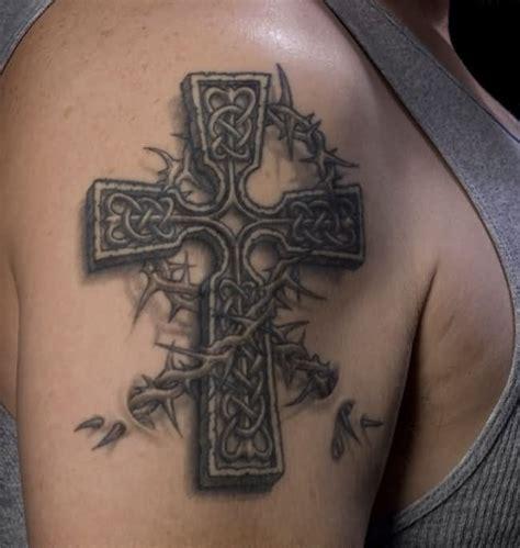 cross tattoo on right shoulder right shoulder celtic cross tattoo cross tattoo designs