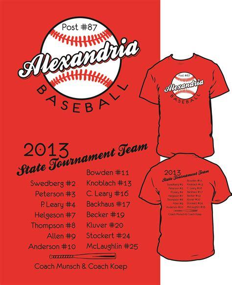 baseball fan t shirts alexandria legion