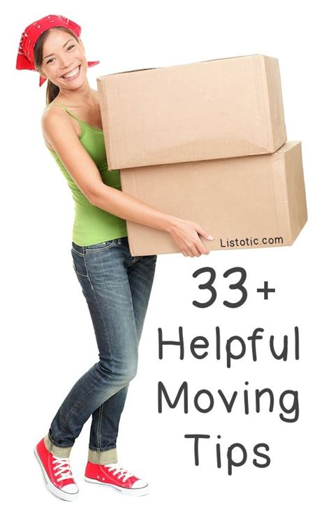 moving and packing 33 helpful moving tips and tricks that everyone should know