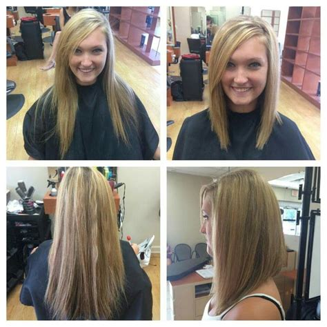 lob vs bob cute long angled bob hair ideas pinterest bobs