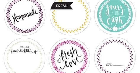 printable mason jar labels wedding printable canning labels printables pinterest