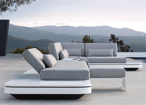 White Lacquer Bedroom Furniture manutti elements garden sofa garden sofas garden seating