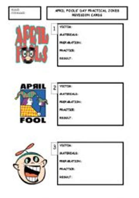 printable practical jokes english teaching worksheets april fool 180 s day