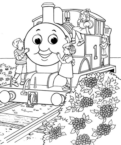 printable thomas the train coloring pages az coloring pages