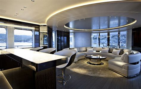 ultra modern mega yacht interior yachts laval collection realisations