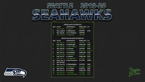 seattle seahawks wallpaper schedule