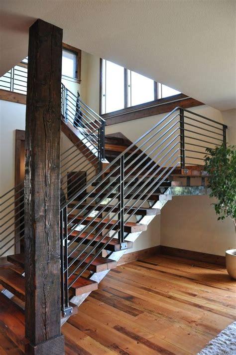 modern stair railings stairs remodel ideas