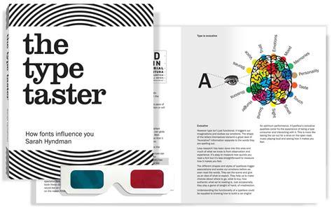 the taster books pre order the type taster book type tasting