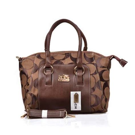 Bags In Bags Dpt 5 Bag coach signature medium coffee totes dpd bagpro