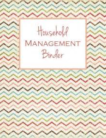 day 1 household management binder cover and spine