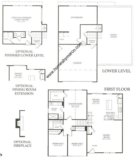 bradford floor plan bradford model in the auburn lakes subdivision in