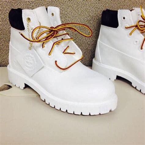 all white boots for shoes timberlands white boots gold impression14 white