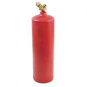 Acetylene Cylinders Uniweld Empty Fuel Cylinder Acetylene 20 Cu Ft 15 Quot Overall Height 2czw7 Mc Grainger