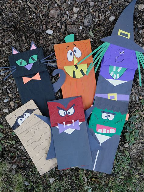 15 kids halloween crafts activities