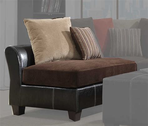 monika two toned brown corduroy casual living room chocolate corduroy sectional sofa best home furniture