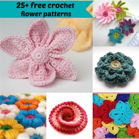 crochet flower pattern easy free 25 free easy crochet flowers patterns