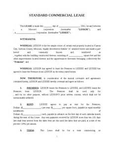 commercial contract template commercial lease contract template hashdoc