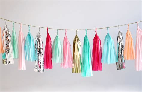 Tassel Garland currently coveting l s picks the glitter